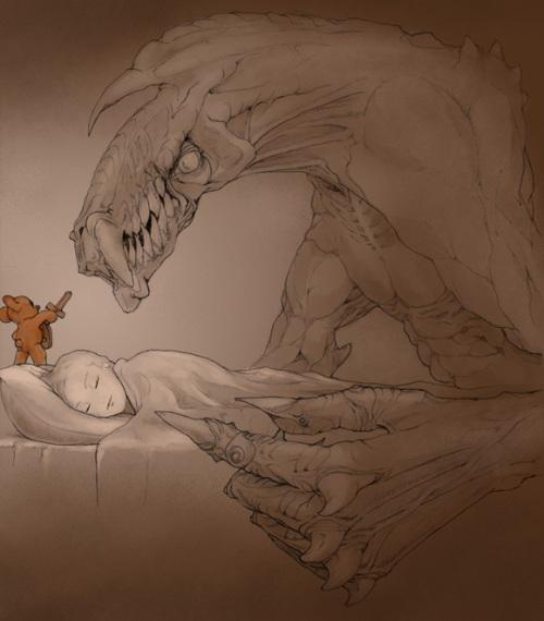 dormir con un osito