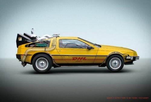 DHL DeLorean