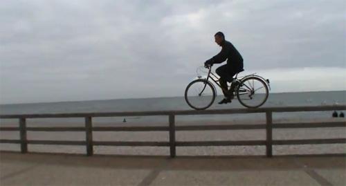 bici de paseo para acrobacias