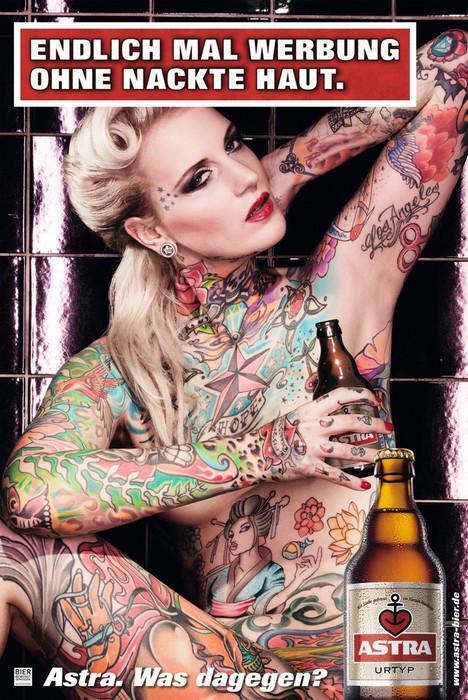 Astra-Finalmente publicidad sin piel desnuda